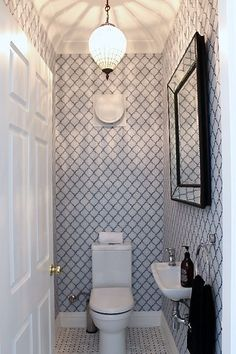 From contemporary to rustic, uncover the best half bathroom ideas. Discover unique bathroom layouts that are as accessible as they are discreet for visitors. Bad Inspiration, Bathroom Inspiration, Small Toilet Design, Bathroom Layout, Bathroom Ideas, Bathroom Designs, Boho Bathroom, Bathroom Sinks, Bathroom Accesories