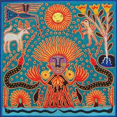 huichol fire hands