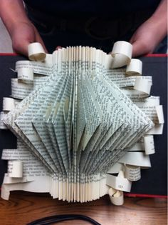 Art at Becker Middle School: Book Sculpture? Yes, please!