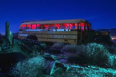 Light Painting - Light Art - Troy Paiva - Beware X - Yucca, Arizona, USA - November 1996