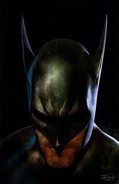 The Batman by DanielMurrayART.deviantart.com on @deviantART
