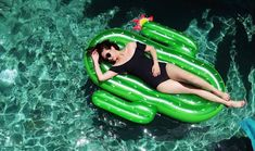 You need a giant inflatable cactus in your life! Whatever floats your boat, find these inflatables for your next pool party or beach holiday
