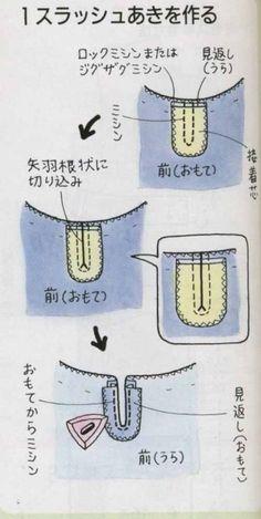 이그림은 봉제 순서를 써 놓은것입니다.아래에 그 순서대로 봉제하는법을 제시하고 있으므로 긴 설명을 하... Japanese Sewing, Patch Quilt, Sewing Techniques, Sewing Hacks, Dress Patterns, Cherry Blossom, Patches, Quilts, Clothes