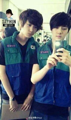 ChanHun Smut - Pre-debut (Fetos) - Wattpad Exo 12, Pre Debut, Wattpad, Exo Chanyeol, Tao, Korea, Couples, Childhood, Girls