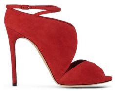 Escarpins en daim rouge, Casadei Escarpins En Daim, Chaussure, Rouge, Sandales  Rouges e39daec70c28