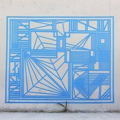 Tape Graffiti by artist Gustavo Fuentes - BOOOOOOOM! - CREATE * INSPIRE * COMMUNITY * ART * DESIGN * MUSIC * FILM * PHOTO * PROJECTS