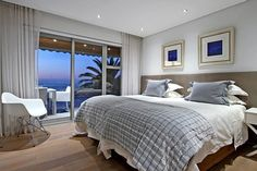Houghton Penthouse is a luxury self-catering holiday apartment in Camps Bay with 3 bedrooms. Twin Bed Sets, Sanctuary Bedroom, Bedroom Design, Bedroom Furniture, Luxury Bedding Sets, Holiday Apartments, Bed, Luxury Bedding, Bedroom