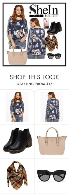 """""""Shein#28"""" by mshlychenko ❤ liked on Polyvore featuring Joop!, Sylvia Alexander, Le Specs and Casetify"""