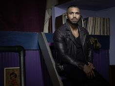 """Tyler Lepley of """"The Have and the Have Nots"""" for RollingOut Magazine Tyler Lepley, Leather Men, Leather Pants, Leather Jackets, Man Crush Everyday, Gorgeous Men, Street Photography, Candid, Eye Candy"""