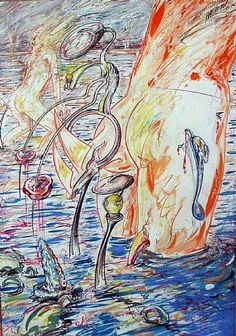 Christian Ludwig Attersee, Vienna Ludwig, Contemporary Art, Painting, Kunst, Painting Art, Paintings, Painted Canvas, Drawings, Modern Art