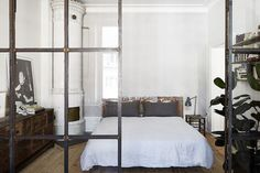 An artist's studio and home in Stockholm