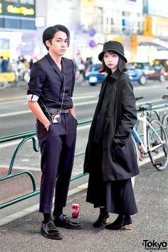 Street Style Boy, Asian Street Style, Tokyo Street Style, Japanese Street Fashion, Tokyo Fashion, Harajuku Fashion, Korean Fashion, Japanese Streetwear, All Black Outfit
