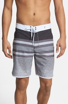 40b50f8e11 Hurley 'Phantom Warp' Board Shorts available at #Nordstrom Mens Pj Shorts,  Pajama