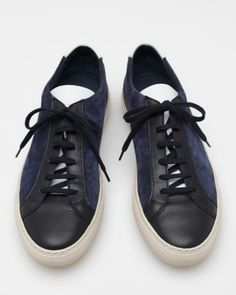 Common Projects Achilles vintage low suede
