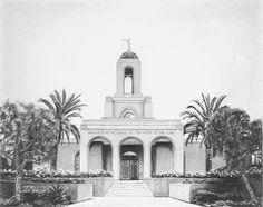 Newport+Beach+LDS+Temple++8x10+Archival+Art+Print+by+HeatherMettra,+$20.00
