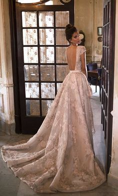Courtesy of Julie Vino Wedding Dresses; Wedding dress idea.