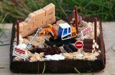 Le gâteau en chantier