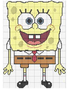 looking for sponge bob pattern in plastic canvas | SpongeBob Crochet Afghan – Free Pattern | Designs By JMo