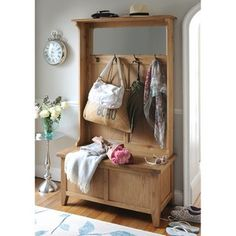 Montague Oak Hall Unit (M514) with Free Delivery   The Cotswold Company