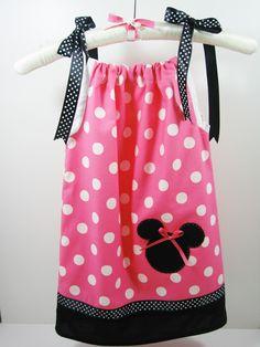 minnie+mouse+dresses | Minnie Mouse Pillowcase Dress