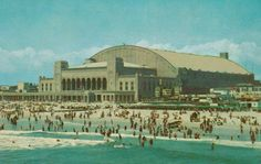 Atlantic City  Convention Hall  New Jersey  by StuckyEstateSale