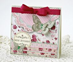 Best wishes - Scrapbook.com (Created by Brises) Wendy Schultz onto Cards.