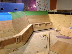 Top out training deck at ABC Kids climbing