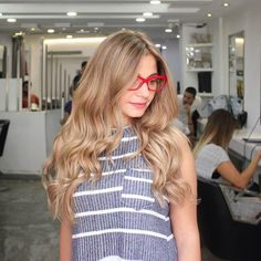 Sand beige blonde! The Hair Creations Home #MichelLayoun …