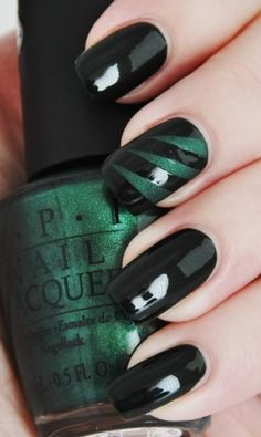 green nature nails