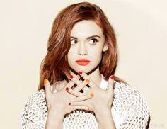 Image de holland roden, teen wolf, and lydia