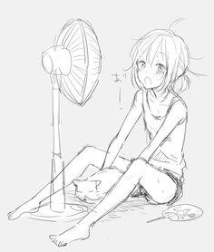 summer anime girl | Tumblr