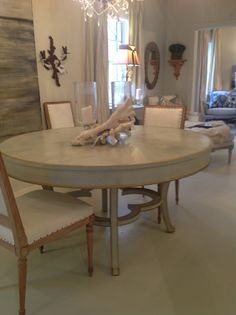 Round Quatrefoil Table. Available at Original Elements