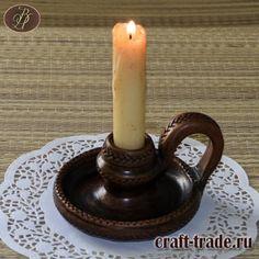 Керамический подсвечник  Рада  - гончарная керамика ручная работа в интернет магазине Рукоделец