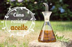 Otros usos sencillos & prácticos para el aceite usado