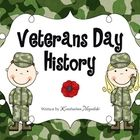 Veterans Day history for children in Pre-K and Kindergarten. You can use these in the reading/literacy center, as an emergent reader or for group r...