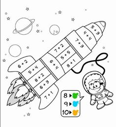 Printable Easter Quiet Book - Activity Book for Pre-K and K Kindergarten Centers, Math Centers, Numbers Preschool, Kindergarten Math Worksheets, Math Addition, Kids Learning Activities, Homeschool Math, First Grade Math, Math For Kids