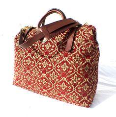 Carpet Bag Weekender / Overnight / Carry on /