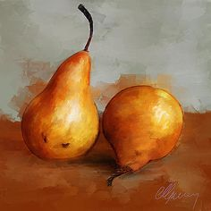 Pears  - by Michael Greenaway