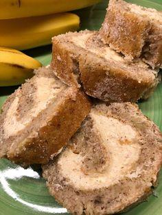 Bananrulltårta med kanel-smörkräm – Kryddburken