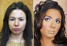 Makyajdan önce ve makyajdan sonra – Vadim Andreev - Before and after makeup makeup