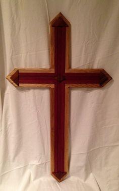 Purple Elm Cross. 41'x25 by ArtistryGrace on Etsy, $800.00