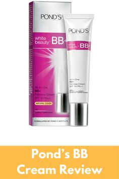 Pond's BB Cream Review Pond's BB+ Cream, product review | How to use it | Pros and cons | User reviews | Pros and cons | Ingredients used...