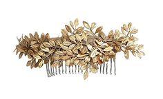 Golden Laurels Headpiece by Vera Wang