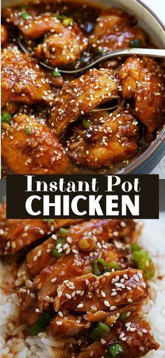 Most Delicious Recipe, Delicious Dinner Recipes, Easy Recipes, Cooking Recipes, Healthy Recipes, New Chicken Recipes, Moist Chicken, Sesame Sauce, Chicken Appetizers