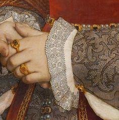 Hans Holbein c. 1536Jane Seymour (detail)