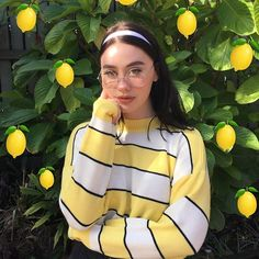 lemon aesthetic clothes results - ImageSearch Aesthetic Makeup, Aesthetic Grunge, Aesthetic Photo, Aesthetic Girl, Aesthetic Pictures, Aesthetic Clothes, Photos Tumblr, Pretty People, Beautiful People