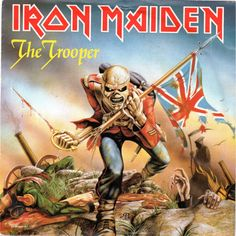 "The Trooper (12"" Album Cover) - Iron Maiden"