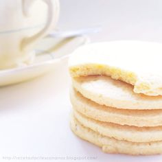 receta galletas dulces de harina de arroz sin gluten Fodmap Recipes, My Recipes, Vanilla Cake, Sugar Free, Cheesecake, Gluten Free, Sweets, Cookies, Breakfast