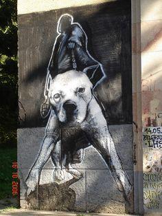 Graffiti in Belgrade, Serbia