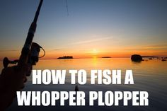 How To Fish A Whopper Plopper. The Whopper Plopper has become one of the most popular topwater lures for bass fishing, but how do you fish it? Best Bass Fishing Lures, Fishing Rigs, Gone Fishing, Best Fishing, Trout Fishing, Fishing Tools, Kayak Fishing Accessories, Topwater Lures, Fish Finder